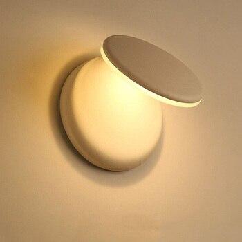 Post Moderno LED Lampada Da Parete Lampada Da Parete In Alluminio Regolabile Creativo Camera Da Letto Soggiorno Corridoio Corridoio Lampade A Risparmio Energetico