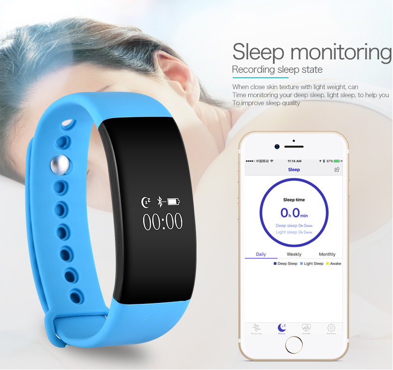 Smartch V66 Sport Smart watch smart band Bluetooth 4 0 Intelligent Wristband Bracelets watch for Android