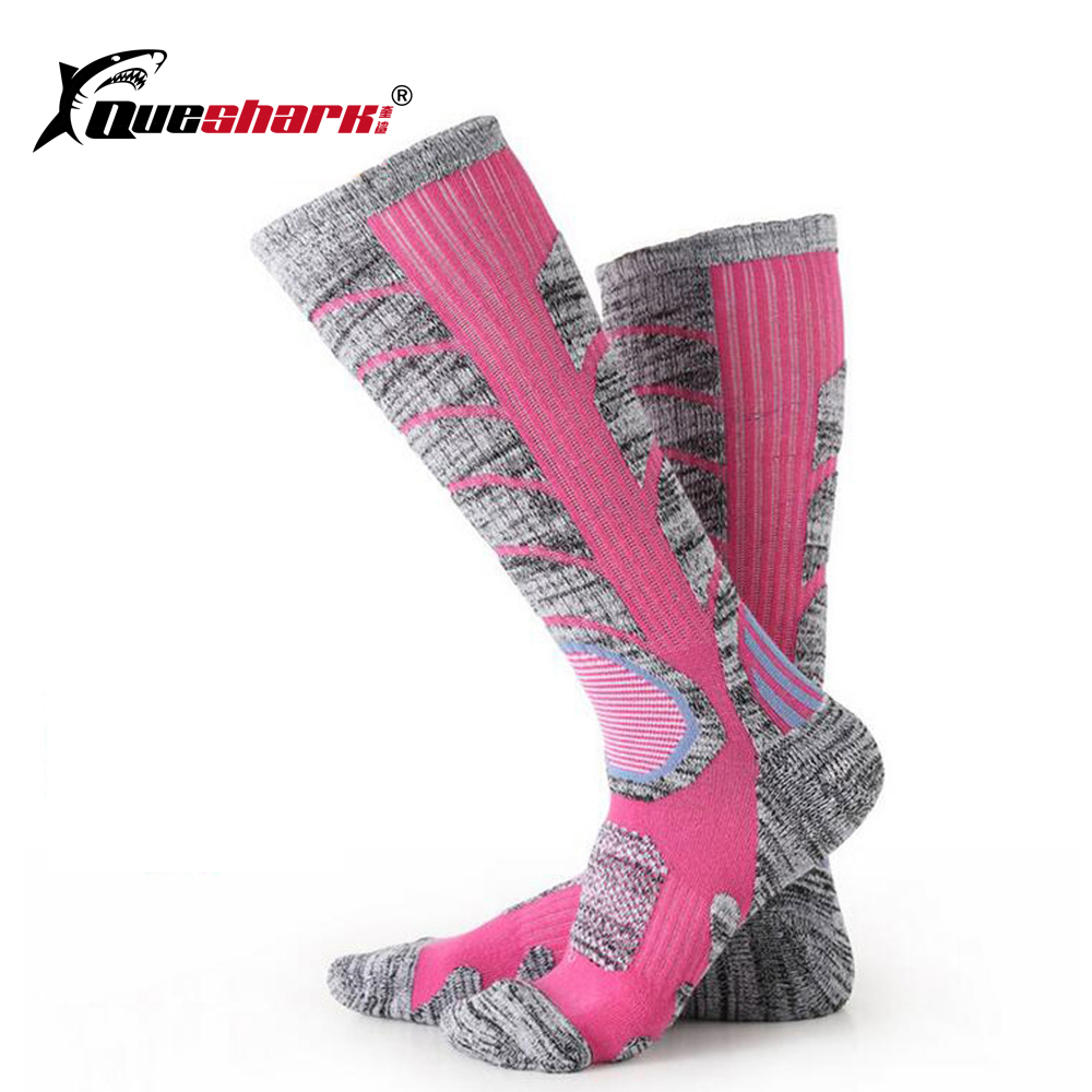 Winter Sports Men Women Children Long Skiing Socks Sports Warm Cotton Snowboard Socks Thermal Hiking Ski Socks