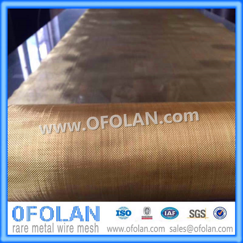 Brass Wire Mesh(20 mesh),Brass Woven Wire Cloth 500mmX1000mm supply in stock inconel 718 nickel alloy wire mesh 10 mesh for nuclear engineering 500mmx1000mm made to order