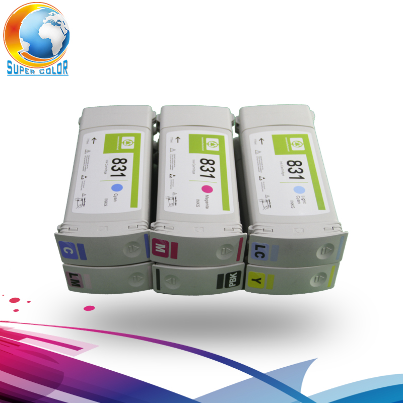 7 colors For hp 831 Original Compatible Ink Cartridge For HP Latex 310 330 360 With Original Latex Ink цена и фото