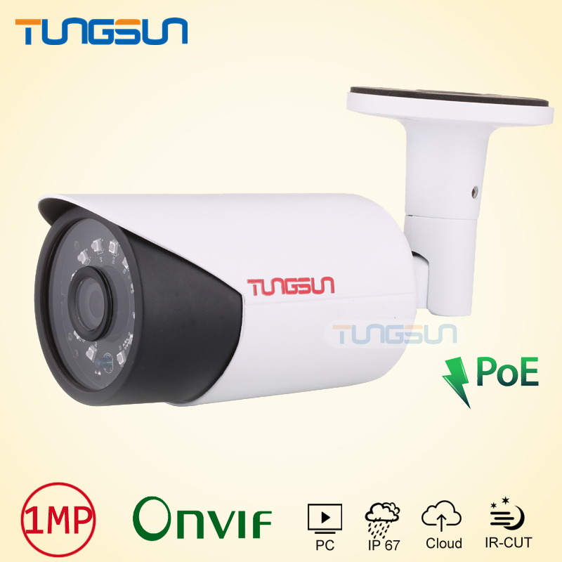 New POE IP Camera 720P 960P CCTV new infrared Aluminum Bullet Metal Waterproof Outdoor ONVIF Cam Security Surveillance cctv camera housing metal cover case new ip66 outdoor use casing waterproof bullet for ip camera hot sale white color wistino