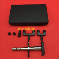 3 Heads Chiropractic Adjusting tools adjustable intensity Correction Gun Activator Medical Therapy