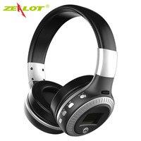 Zealot B19 Wireless Bluetooth Headphone LCD Display HiFi Bass Stereo Earphone Headset With Mic FM RadioTF