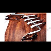Chrome Stealth Luggage Rack For Harley Touring Street Glide Road King Road Glide 09 13 14