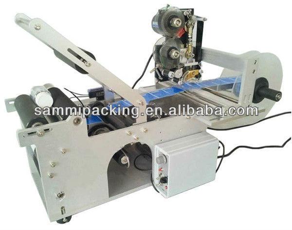 HTB1IbJ4IFXXXXc1XFXXq6xXFXXXj - manual round bottle labeling machine with date printing machine for PET,plastic,glass and metal bottle