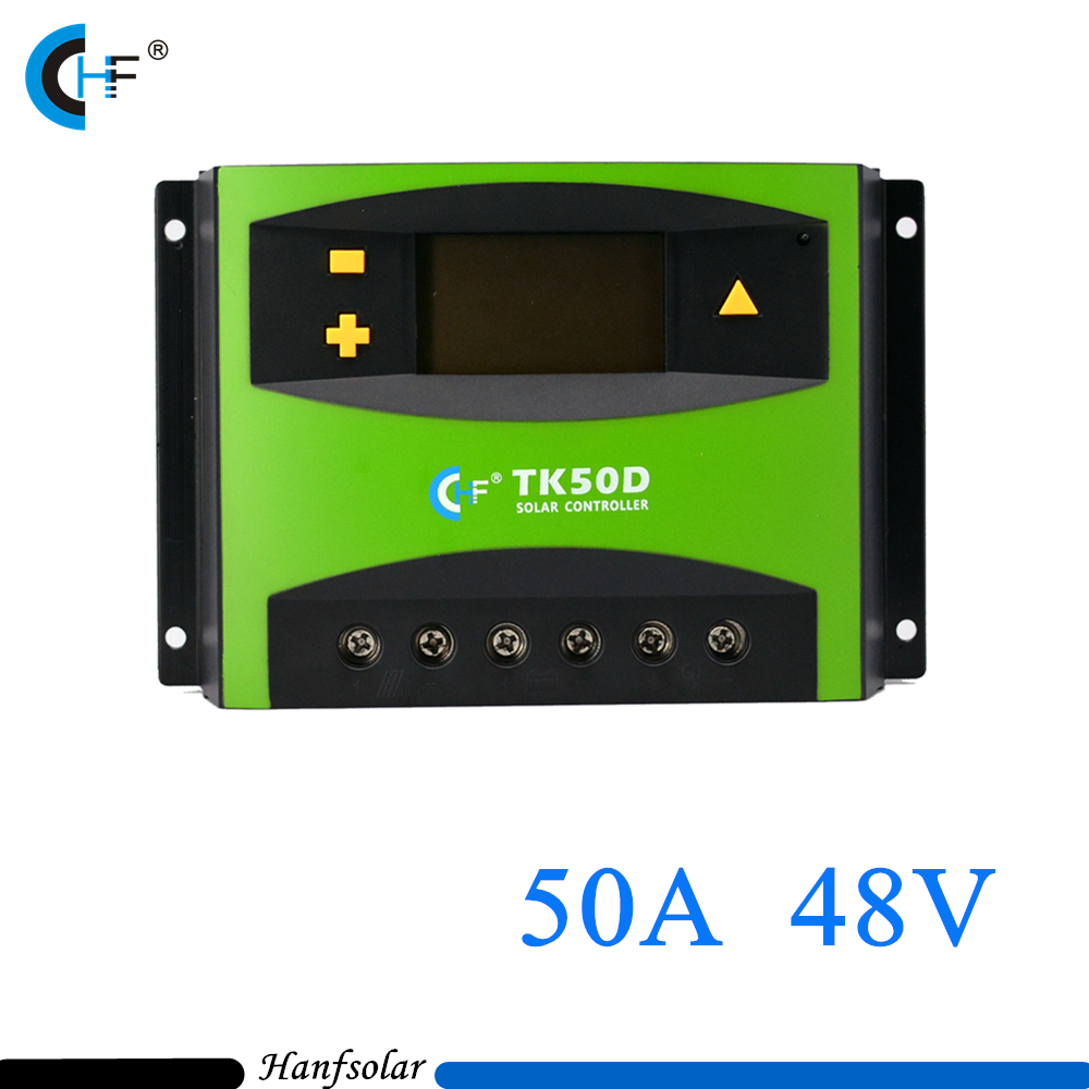 50A 48V PWM Portable Solar Charge Controller for Home Use in Solar Generation System