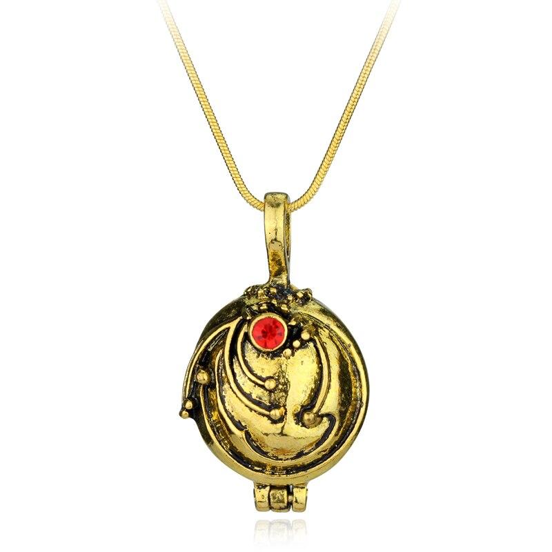Nowe pamiętniki wampirów naszyjnik Elena Gilbert Retro Verbena Verveine zdjęcie wisiorek medalion biżuteria męska i damska