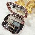 2016 Hot Professional beauty makeup eye shadow Fashion 4-color Diamonds shine eyeshadow waterproof not fade free shipping S588