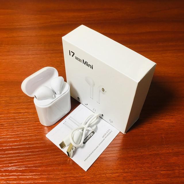 Фото i7xminitws ушной раковины беспроводной bluetooth 50 стерео con цена