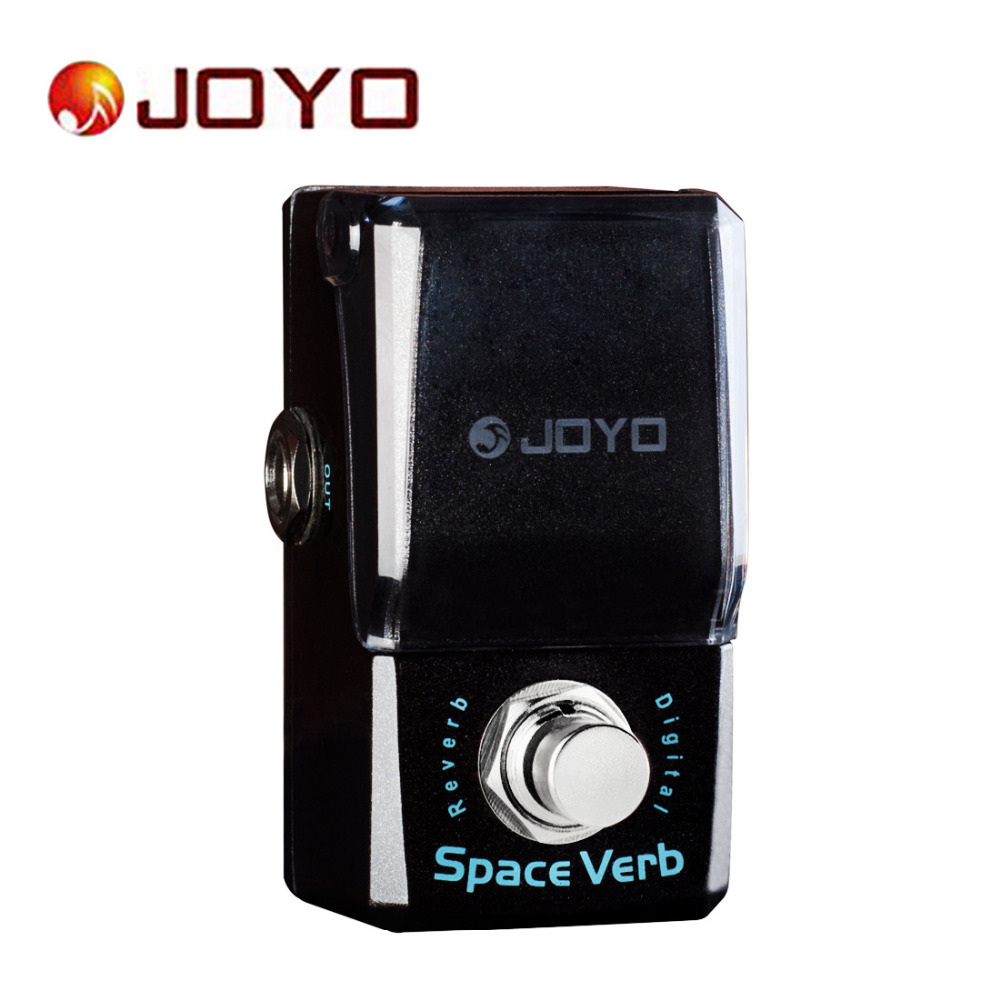 JOYO IRONMAN JF-317 Guitar Effect Pedal Space Verb Digital Reverb Mini Electric Guitar Pedal Box with Knob Guard True Bypass aroma aov 3 ocean verb digital reverb electric guitar effect pedal mini single effect with true bypass guitar parts
