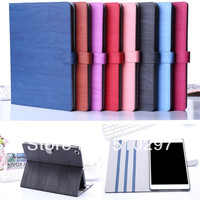 High Quality PU Leather Wood Grain Style Case Cover Stand For IPad Air 5 Ipad5