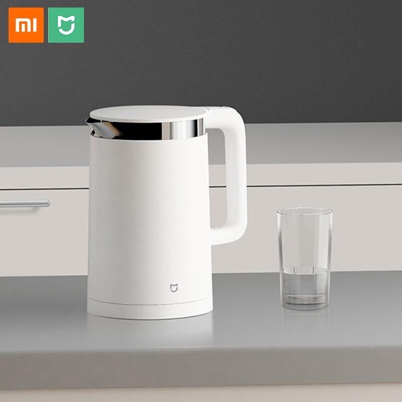 Оригинальный Xiao mi Электрический чайник Smart постоянный контроль температуры воды mi home 1.5L Теплоизоляция чайник мобильное приложение mi jia
