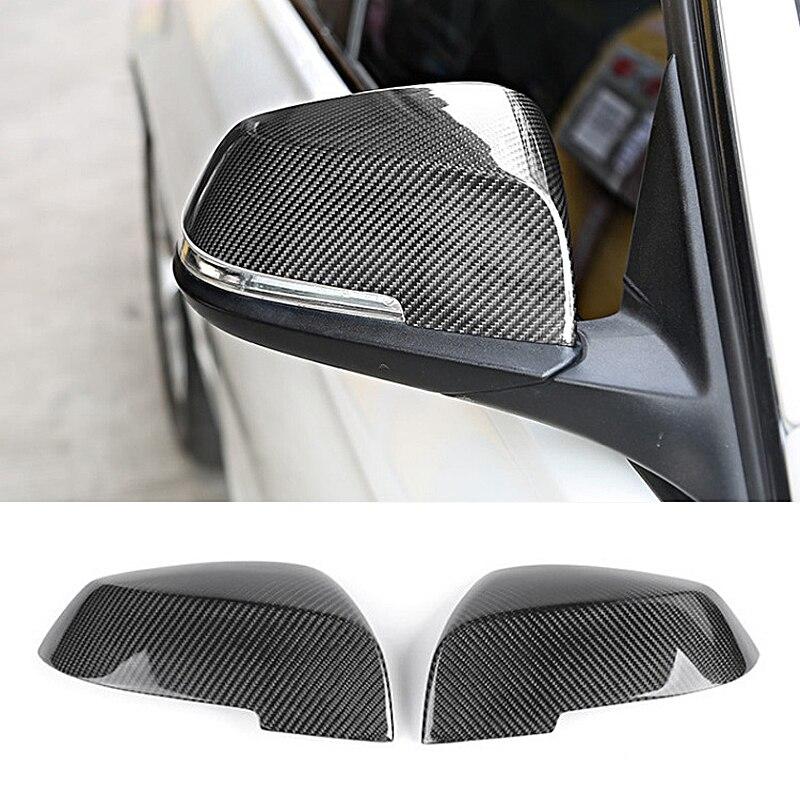 Pour BMW F30 F32 F33 F20 F22 F23 F36 X1 Miroir M3 M4 Look Vue Arrière Couverture De Miroir Pour F20 f30 F22 F36 F23 F87 M2 miroir de carbone