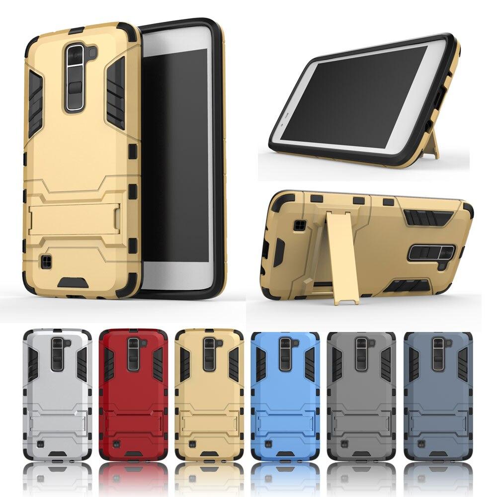 AIPUWEI <font><b>Case</b></font> For LG K7/ LG <font><b>K10</b></font> <font><b>Phone</b></font> Cover for LG K7 K 7 Hard Plastic <font><b>Phone</b></font> <font><b>Case</b></font> for LG <font><b>K10</b></font> K 10 <font><b>Case</b></font> with stand tpu + pc SHELL