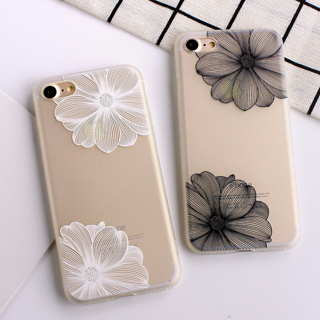 Ultra-thin Simple Scrub Silicone Phone Cases For iphone 6 6S 8 7 Plus Soft Back Cover 3