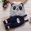 2016 New Cotton Autumn Suit Baby Girl Clothing Set Animal Bebe Suit Warm Lovely Leisure Infant Newborn Baby spring Clothes Sets