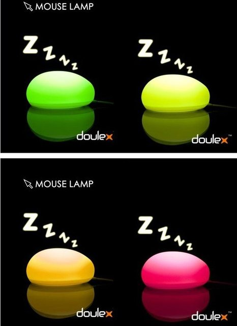 Free Shipping promotional D0ULEX original! Creative Mouse lamp! LED Night Light! Stylish energy saving lamps! Special Value!