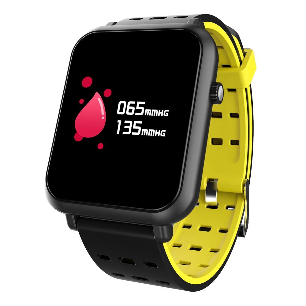 Купить с кэшбэком Fitness Smart Watch Tracker Bluetooth Bracelet Waterproof IP67 Monitor Sport for Android IOS Q8 Mini Wrist For Lady Fashion