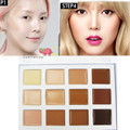 1PCS Concealer 12 Colors Palette  Makeup Foundation Cream Contour Highlighter Makeup Face Concealer Cream  beauty Face Cosmetics