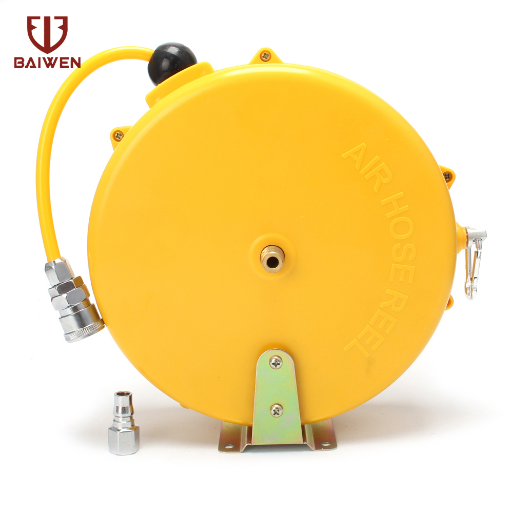 Automatic Retractable Reel Telescopic Air Drum Hose PU8*5 10*6.5 12*8 Automotive Air Hose Pneumatic PU Tube Pneumatic Drum