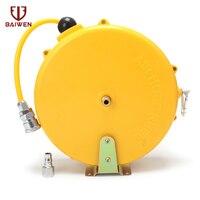Manguera de tambor telescópica retráctil automática PU8 * 5 10*6 5 12*8 manguera de aire neumática PU tubo|Herramientas neumáticas| |  -