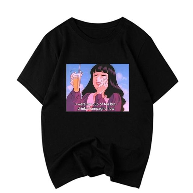 825fbf39 Japanese Anime Dear Brother Quotes Funny T-Shirt Kawaii Tumblr Aesthetic  Sailor Moon T shirt women Unisex 90s tee shirt femme