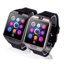 Montre Smart watch Q18 horloge synchronisation notification device support carte Sim Bluetooth connexion Android téléphone pour Huawei xiaomi(China)
