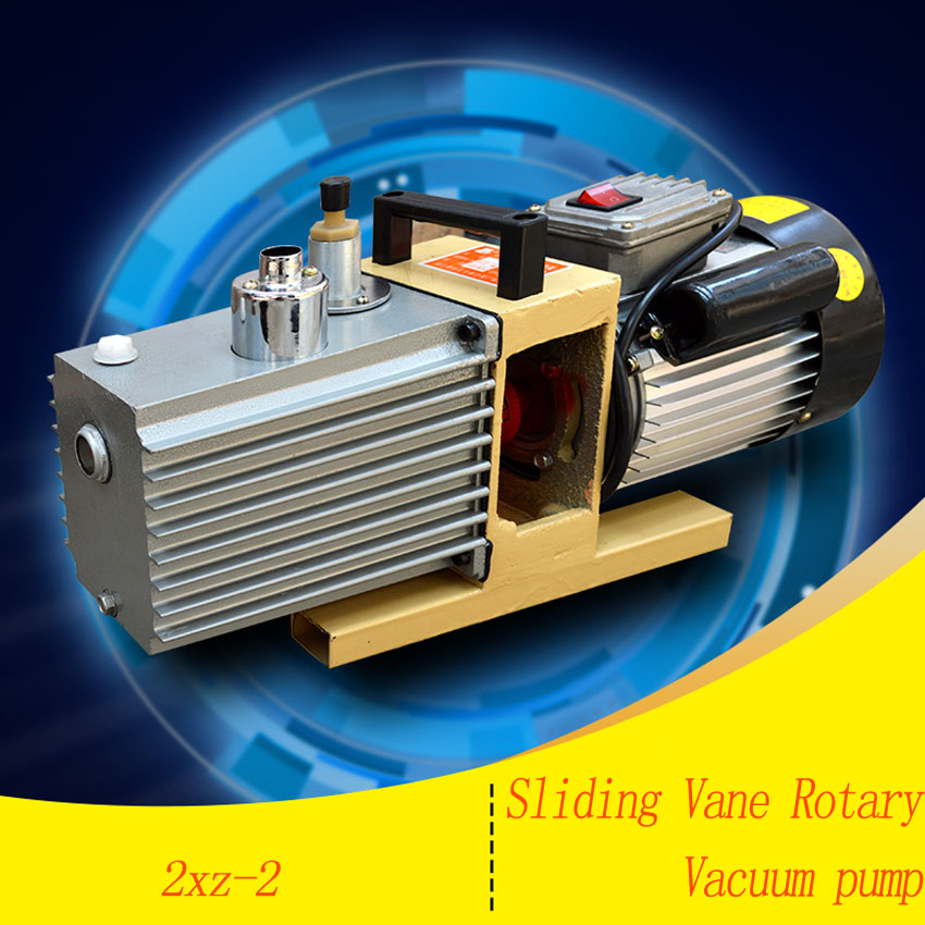 1PC Rotary Vane Vacuum Pump 220V 2XZ-2 Liter Suction Pump Specialized For Mini LCD OCA Laminating Machine