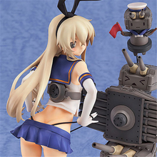 Haocaitoy Figure Toys Kantai Anime Figures Dolls Game Model Toys  PVC Model For Collecting Gift 19cm haocaitoy figure toys 4 leaves tony anime action figures daisy dolls 1 6 scale pvc model toys swimwear for collecting gift 14cm