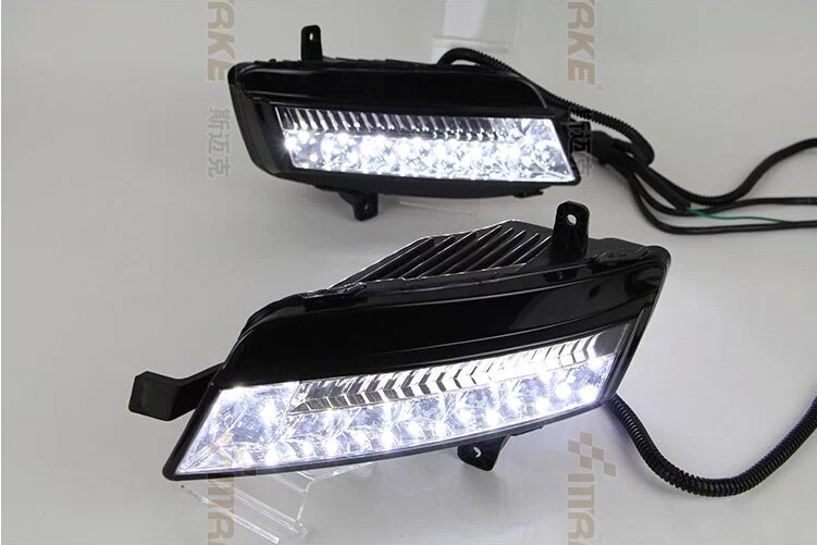eOsuns LED DRL daytime running light for Volkswagen Golf 7, wireless switch control, led fog lamp osmrk led drl daytime running light for volkswagen golf 7 vw mk7 top quality with wireless switch control