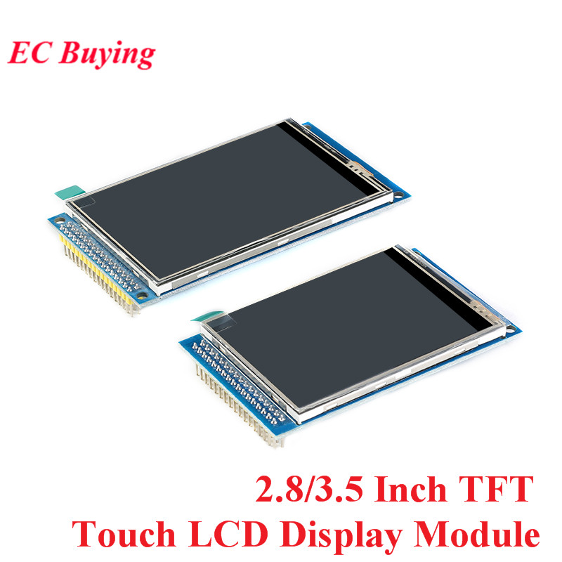 2,8/3,5 Zoll TFT Touch LCD Screen Display Modul Stick ILI9341 ILI9486 Auflösung 240*320 320*480 DIY Kit Für Arduino