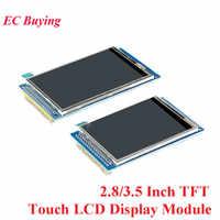 2,8/3,5 Zoll TFT Touch LCD Screen Display Modul Stick ILI9341 ILI9486 Auflösung 240*320 320*480 DIY Kit Für Arduino