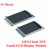 Módulo de pantalla LCD TFT táctil de 2,8/3,5 pulgadas unidad ILI9341 ILI9486 resolución 240*320 320*480 Kit DIY para Arduino