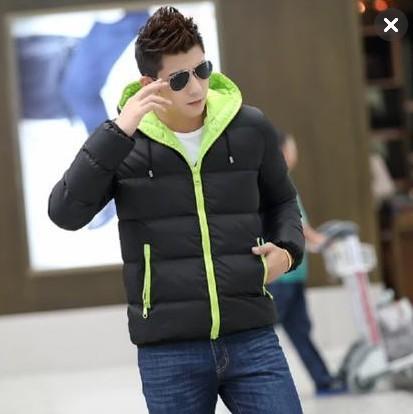 O envio gratuito de 2016 nova primavera outono versão Coreana modelos Explosão dos homens venda quente Slim com capuz grosso casaco quente Barato atacado
