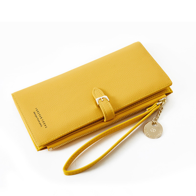 Women Long Wallet Many Departments Female Wallets Clutch Lady Purse Zipper Phone Pocket Card Holder Ladies Carteras 28