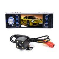 4.1 inch HD TFT 1 Din Autoradio Bluetooth Car Radio Sound Systems Head Unit With USB SD Aux A2DP ISO Connector
