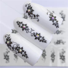 Get more info on the WUF 1pcs Hitoro Flower  Nail Stickers Water Transfer Decals Decoration Dream Cather Slider For Nail DIY Tips