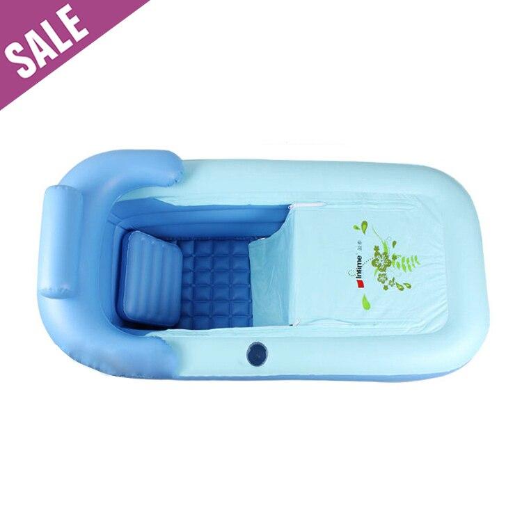 dhl adulto spa pvc pieghevole portatile vasca di plastica per adulti vasca da bagno gonfiabile formato