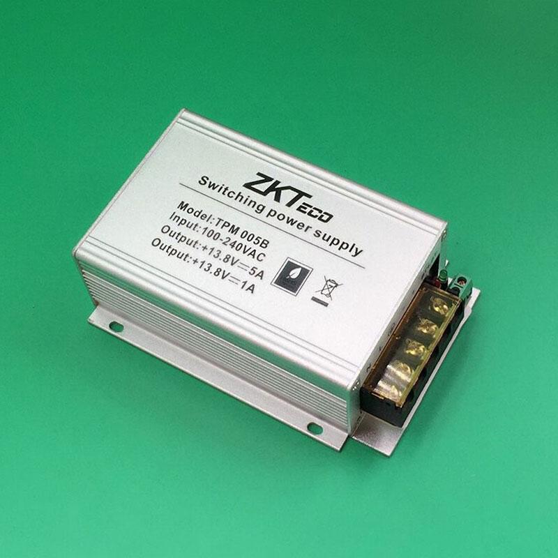 цена на ZK TPM005B Power Supply Inbio original Power Supply Unit 12V5A Power Unit for Access Control Penal inbio160 inbio260 inbio460