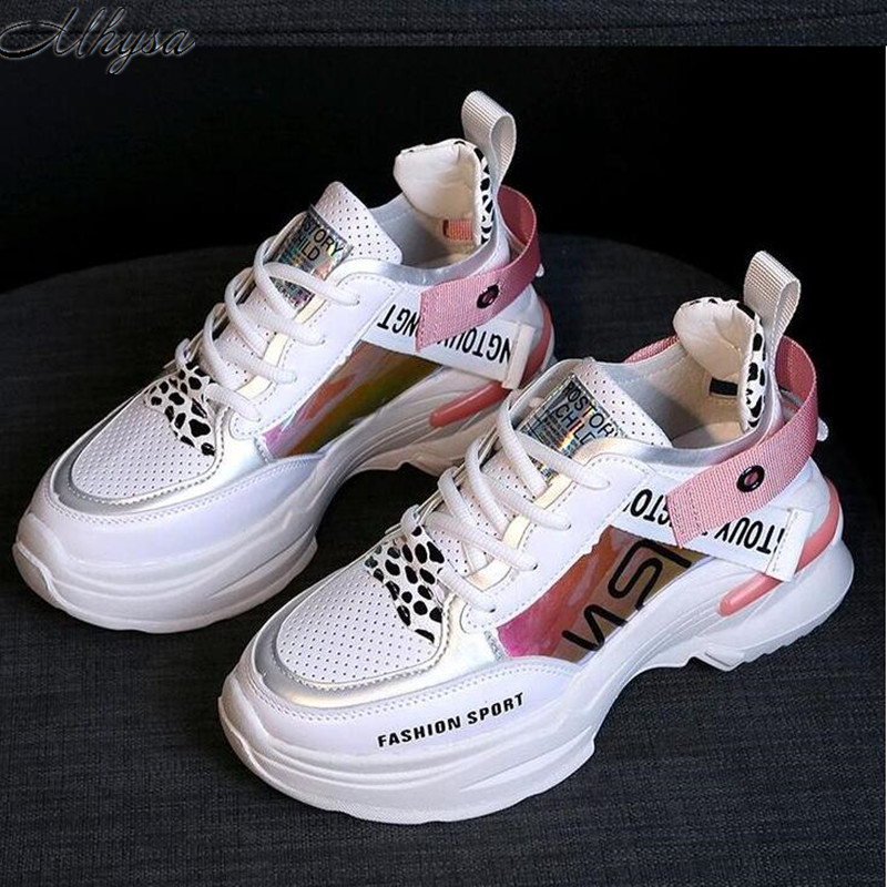 Mhysa 2019 New Spring Fashion Women Casual Shoes Comfortable Platform Shoes Woman Sneakers Ladies Trainers Chaussure Femme T459