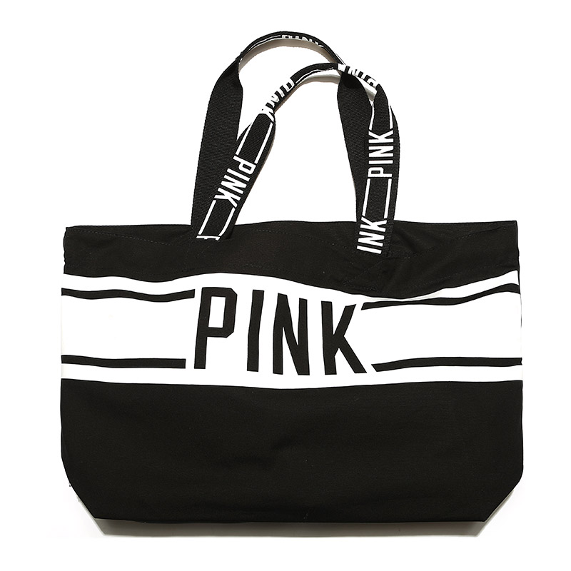 black  white CANVAS TOTE BAG 2018 LIMITED EDITION PINK STRIPED VS shopping  beach weekend holiday bag new mf8 eitan s star icosaix radiolarian puzzle magic cube black and primary limited edition very challenging welcome to buy