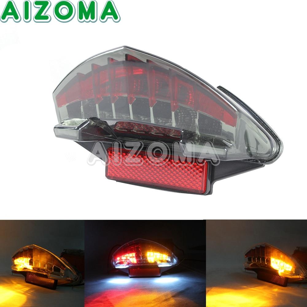 Motorcycle Rear Brake Turn Signal Lamp Smoke Tail Light For BMW R 1200 GS Adventure K25 K255 F800S ST GT K71 K73 2005-2014 motorcycle led brake tail light turn signal indicator for bmw r1200gs adv f800s f800st f800gt f800r 2003 2014