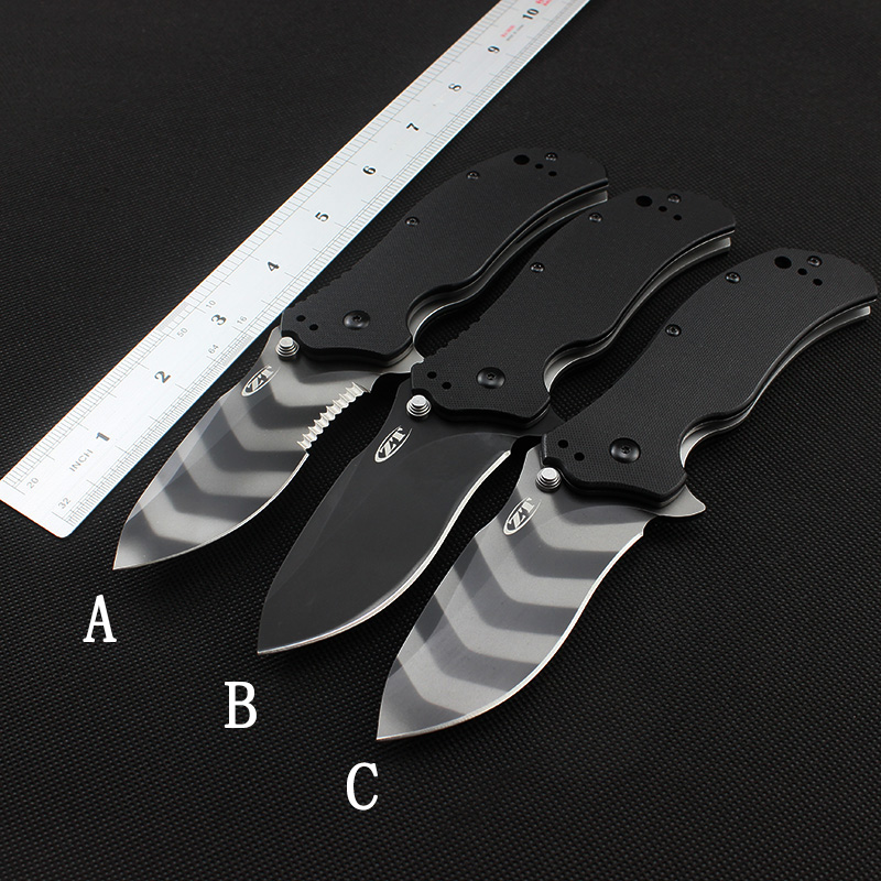 Image 2 - Folding knife new tactical ZERO TOLERANCE 0350 pocket knife G10 handle ELMAX blade man practical outdoor camping tool knife-in Knives from Tools