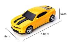 Детская небольшой пульт дистанционного управления автомобиль игрушечный автомобиль подлинной шмель имитационная модель автомобиля сопротивление упасть