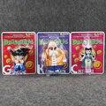 Dragon Ball Goku ChiChi Maestro Roshi Acción PVC Figuras de Colección Modelo Juguetes 3 unids/set
