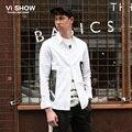 VIISHOW Camisa Social Slim Fit Print Shirt Men Long Sleeve Blouse Men Business Shirt Hip Hop Men Top Shirt for Men M-XXL CC55363