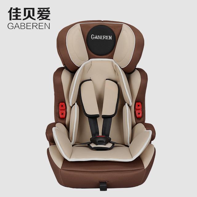 Asiento de seguridad para niños asientos de seguridad de coche de bebé niños 9 meses-12 años de edad chliodren asientos con certificación CCC de la CEPE