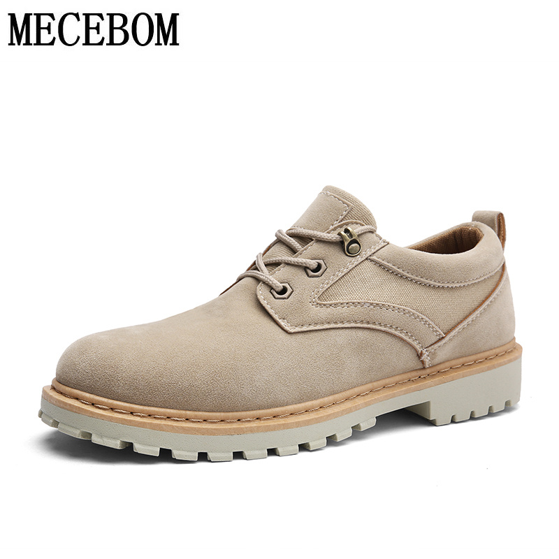 Men shoes new sand color breathable lace-up casual shoes men's low-top autumn footwears comfort size 39-44 k001m men s leather shoes new arrival lace up breathable vintage style casual shoes for male footwears zapatos size 38 44 8151m