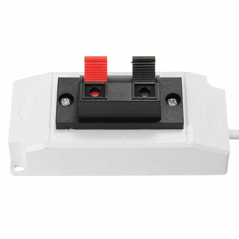 AC220V Светодиодные ленты тонкая проволока Тесты зажим с переключателем для одного Цвет штепсельная вилка стандарта США 2 коннектор для проводов с клеммами 3014/3528/5050/5630SMD